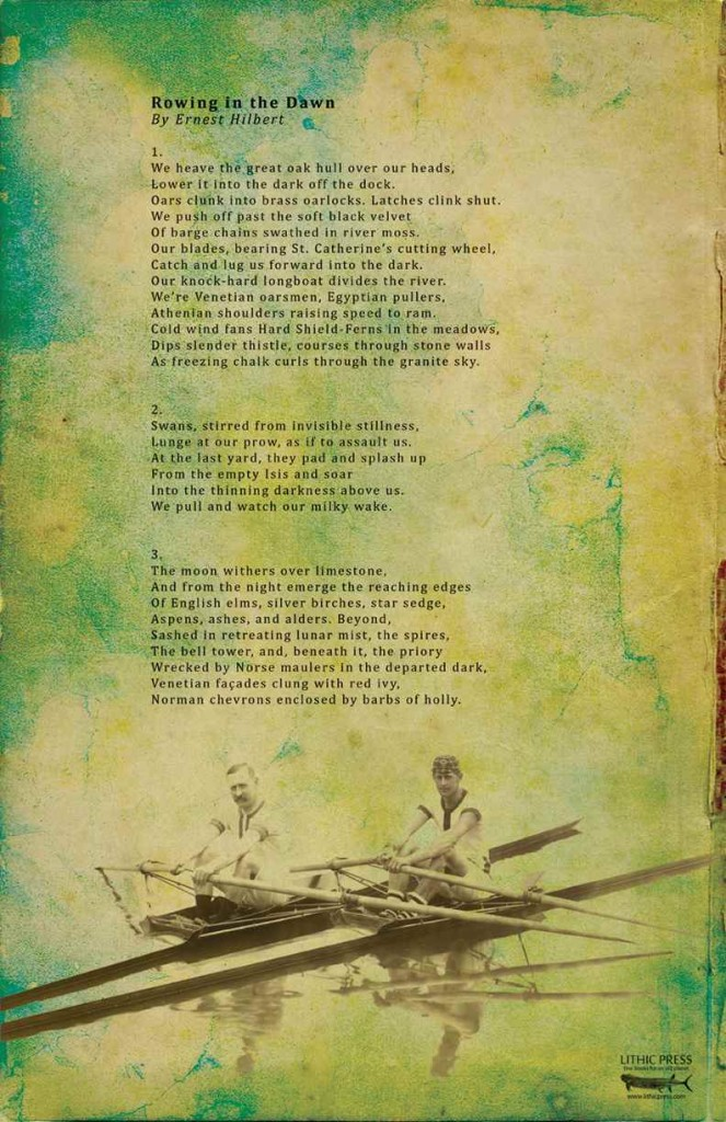 Ernest Hilbert Rowing Broadside WEB