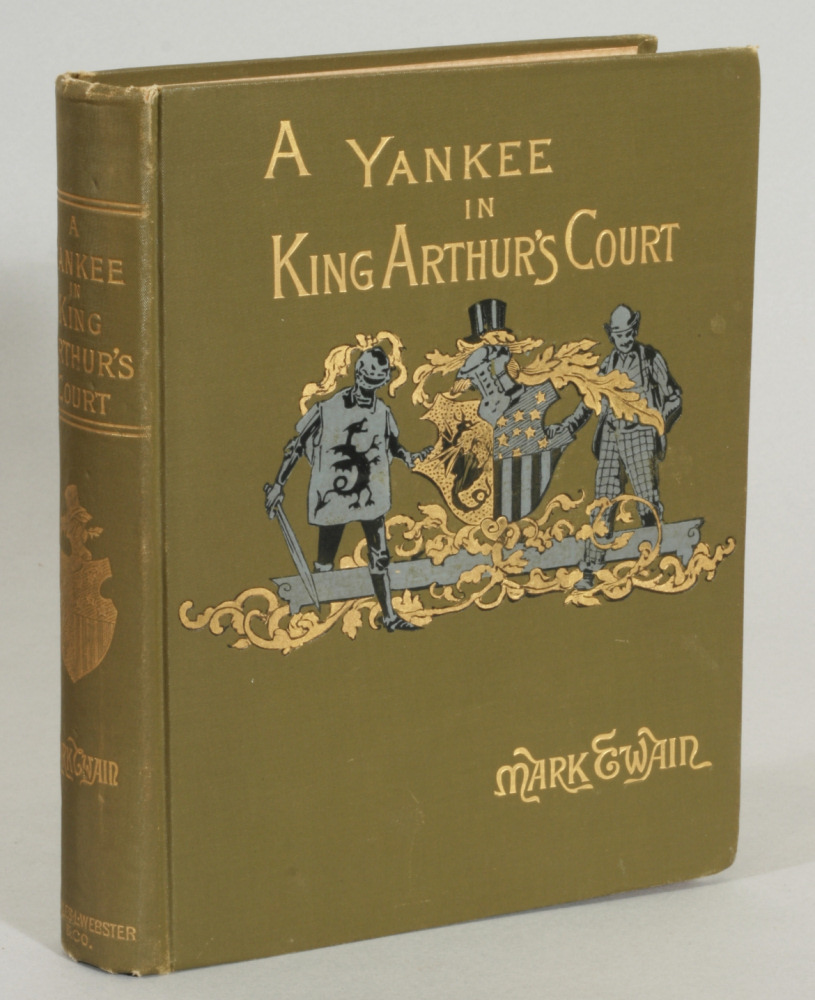 a review of mark twains a connecticut yankee in king arthurs court Clcweb: comparative literature and culture, the peer-reviewed, full-text, and   mark twain's a connecticut yankee in king arthur's court opens with a.