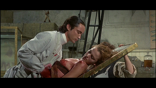 Frankenstein movie scenes