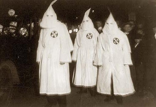 klu klux klan robes and masks