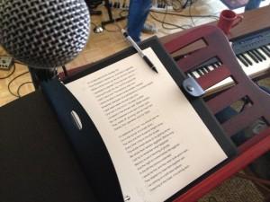 Elegies & Laments rehearsals 7