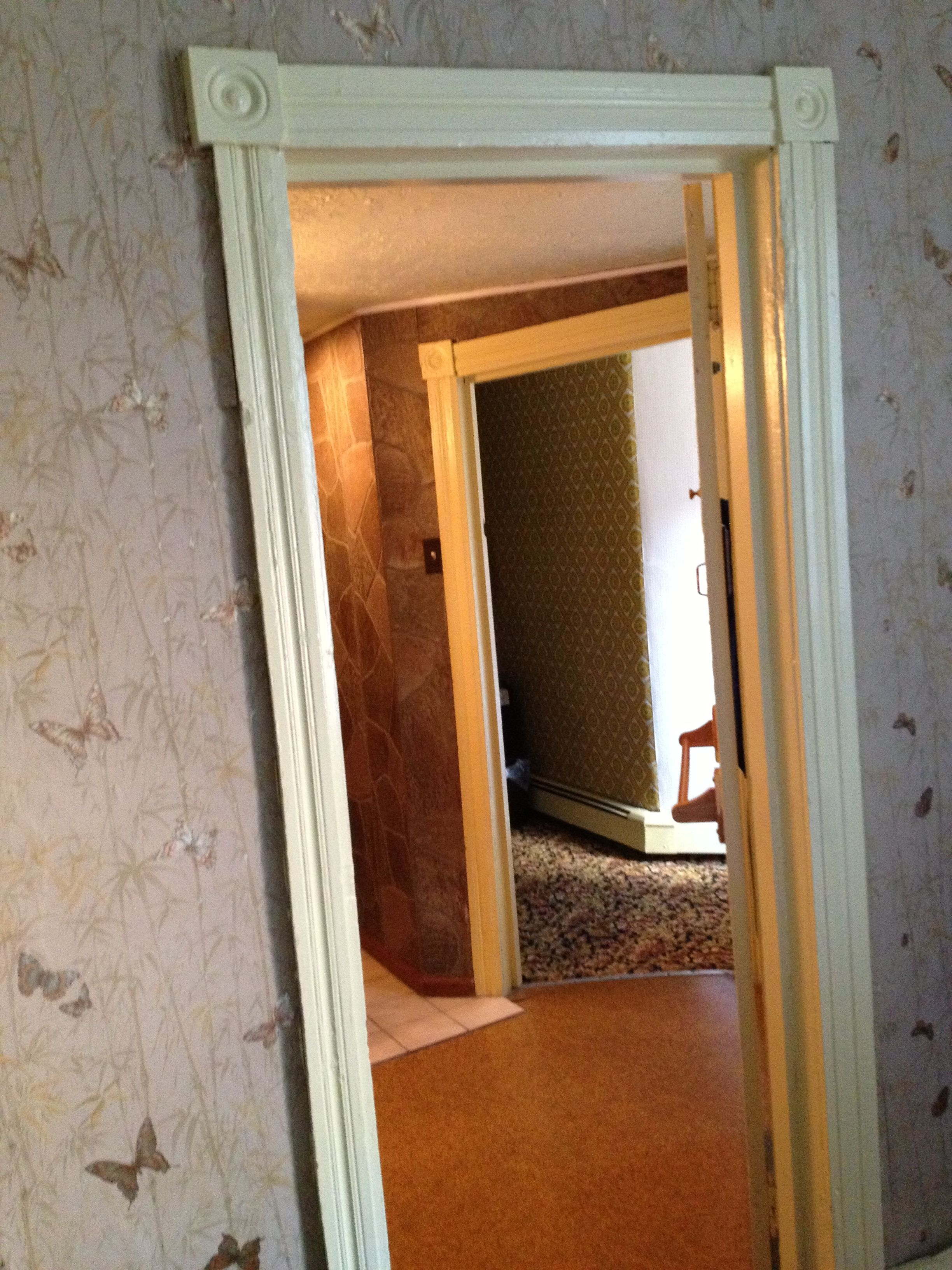 The crooked door frames only add to the charm. & Meet Me Tonight in Atlantic City
