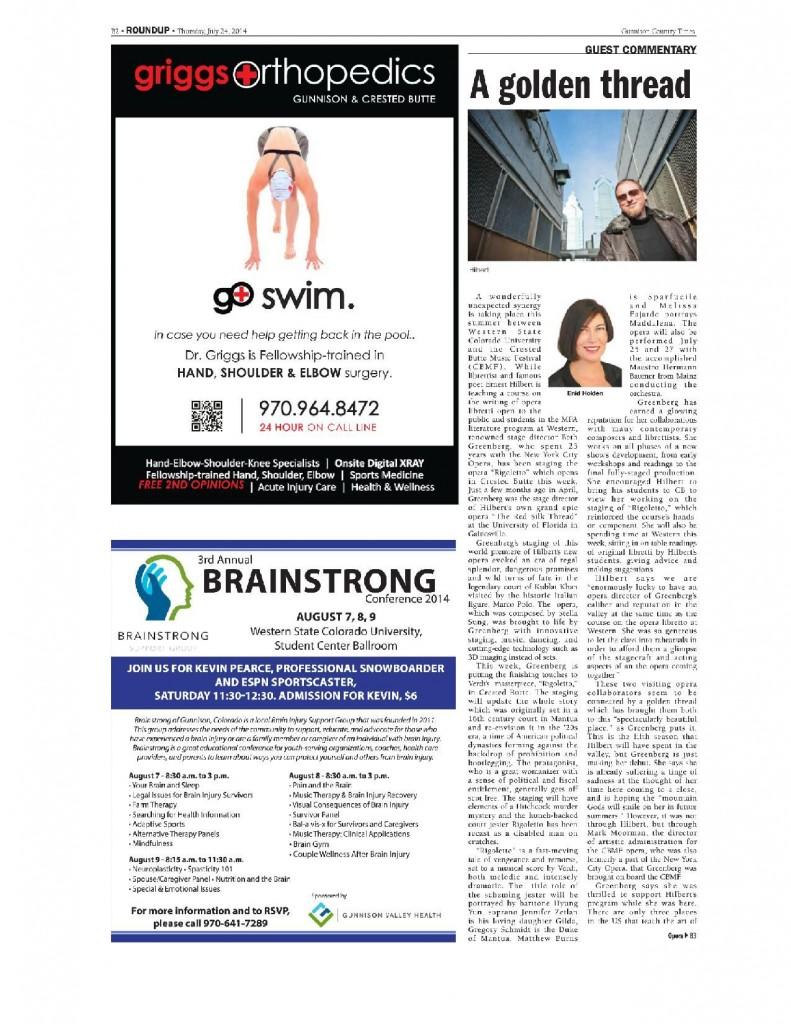 Hilbert in Gunnison Times-page-001
