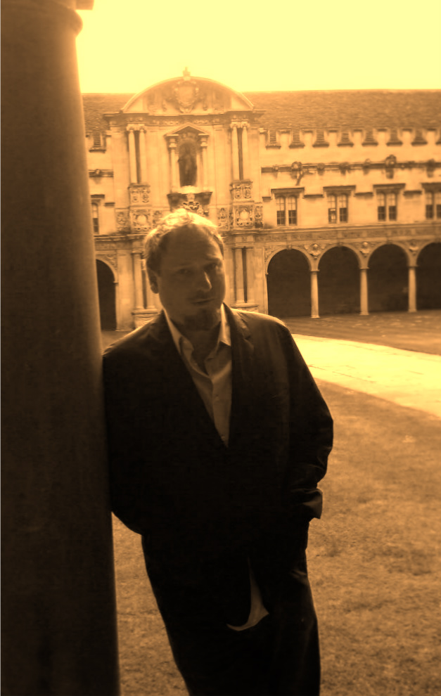 Hilbert at St. John's College, Oxford, June 12th, 2011, where he lodged after his reading at Albion Beatnik.