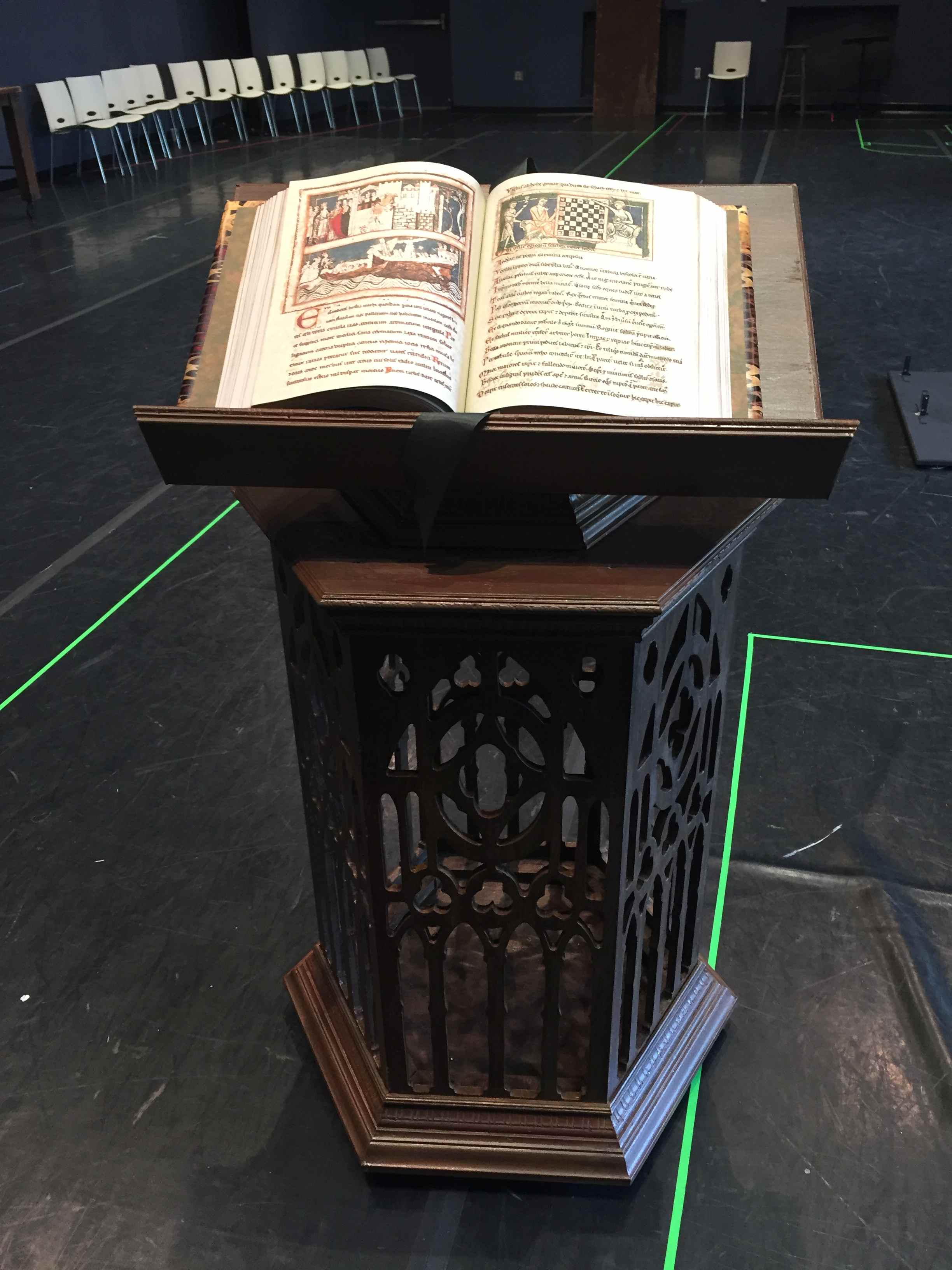 Book Prop for Opera