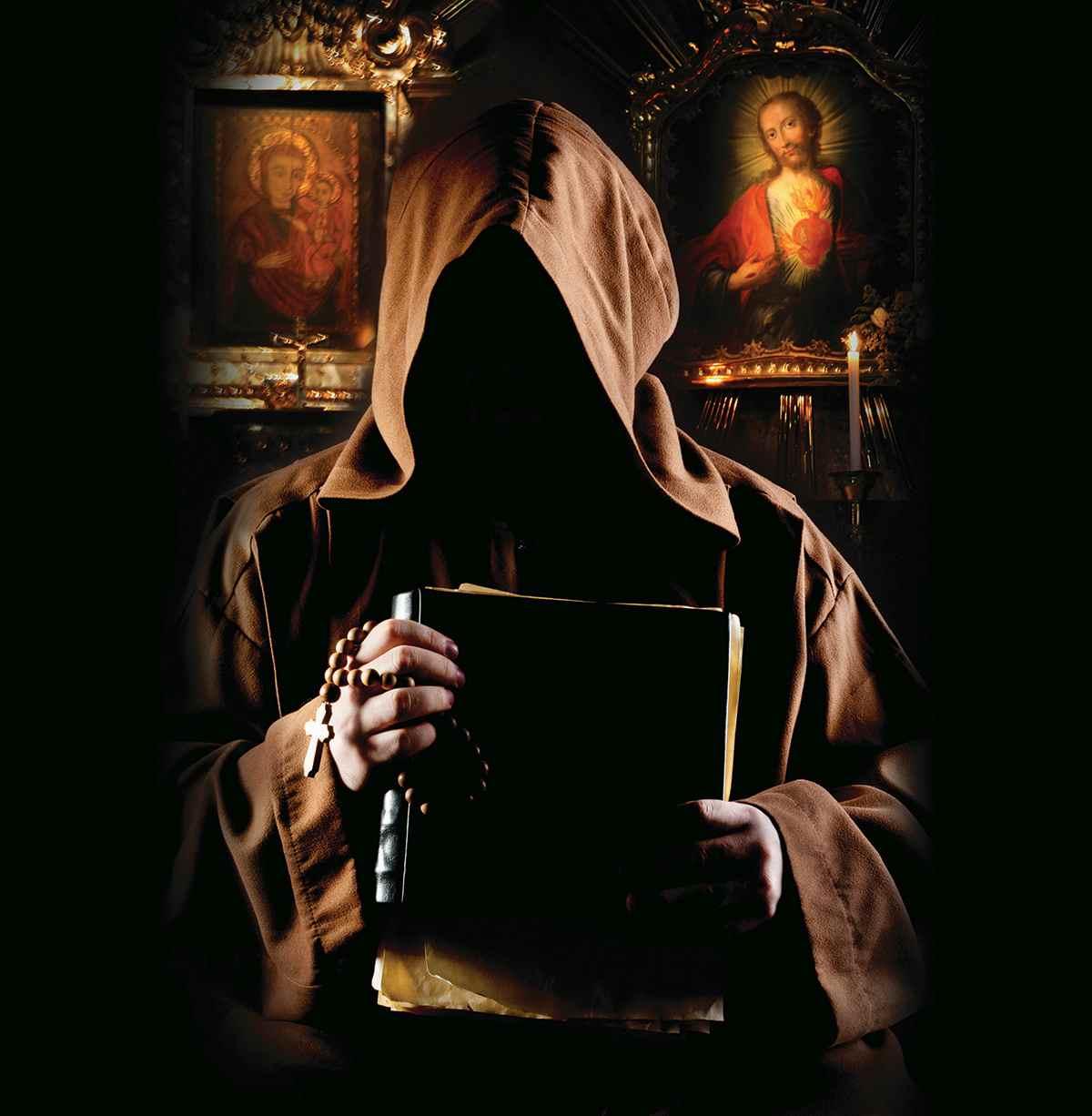 The Book Collector-Illo-Monk