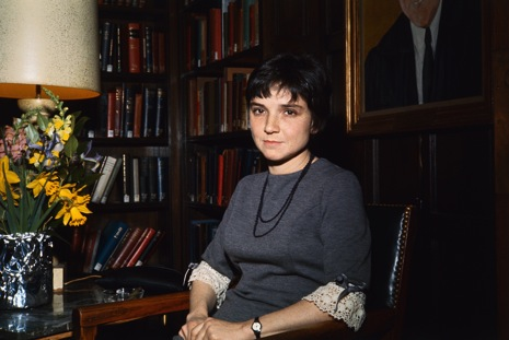 28 Feb 1966, New Haven, Connecticut, USA --- Original caption: Closeups of Adrienne Rich, poet and author of A Change of World and The Diamond Cutters, at Yale University February 28, among those literary figures who gathered to pay tribute to the late Randall Jarrell. --- Image by © Bettmann/CORBIS